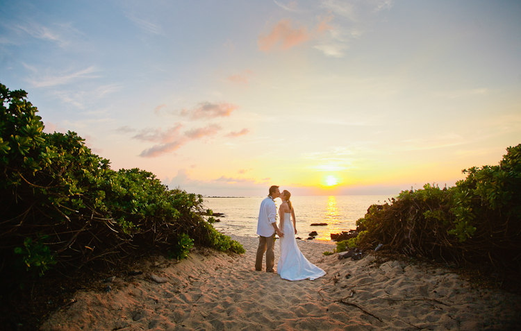 Alexandra beach wedding