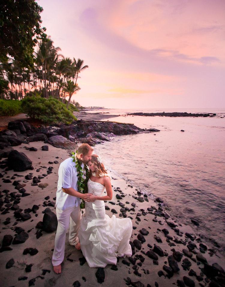 carolyn keith fairmont orchid wedding big island of