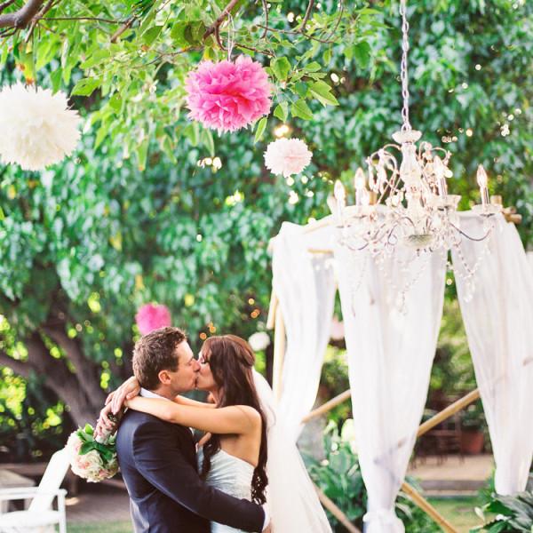 Shara & Adam | Bayer Estate Wedding | Kahala, Oahu