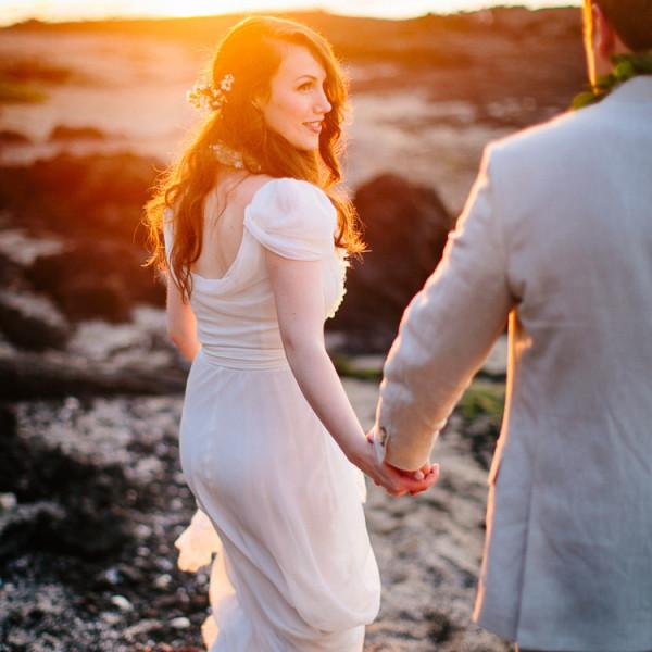Alexandra & Blair | Lava Lava Beach Club Wedding, Big Island of Hawaii