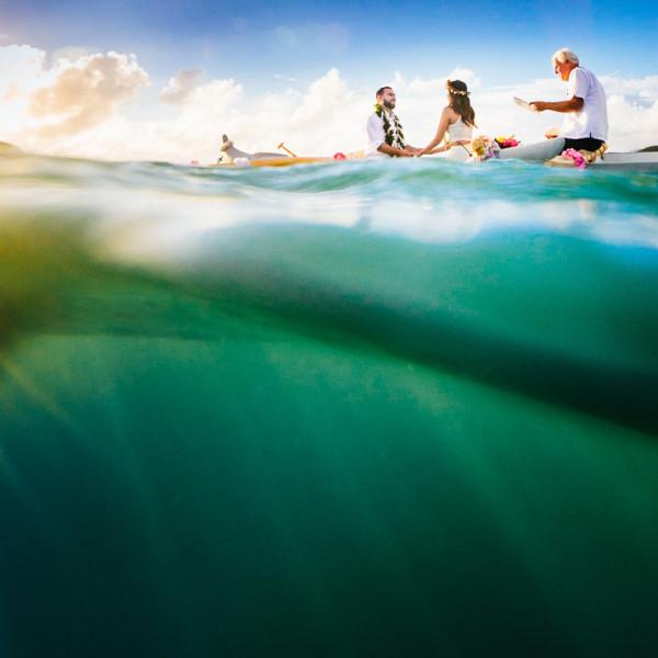 Krishna & Carlos |  Lanikai, Oahu | Sunrise Elopement