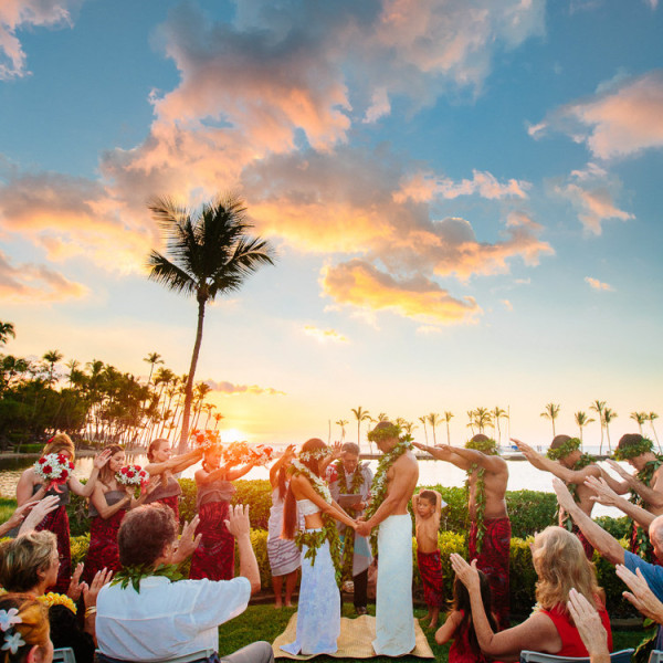 Maila & Darren | Waikoloa Beach Marriott Wedding