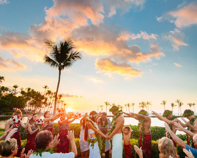 Maila & Darren | Waikoloa Beach Marriott Wedding