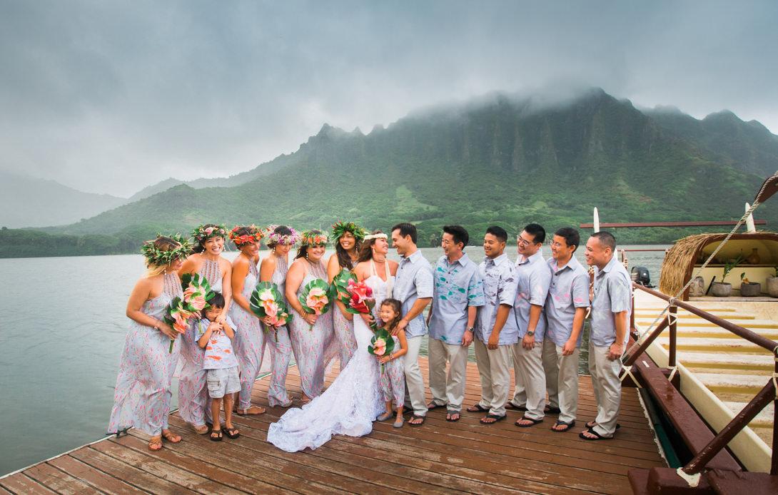 Picture Of Hawaii >> Kau'i & John | Kualoa Ranch, Oahu - Hawaii Wedding ...